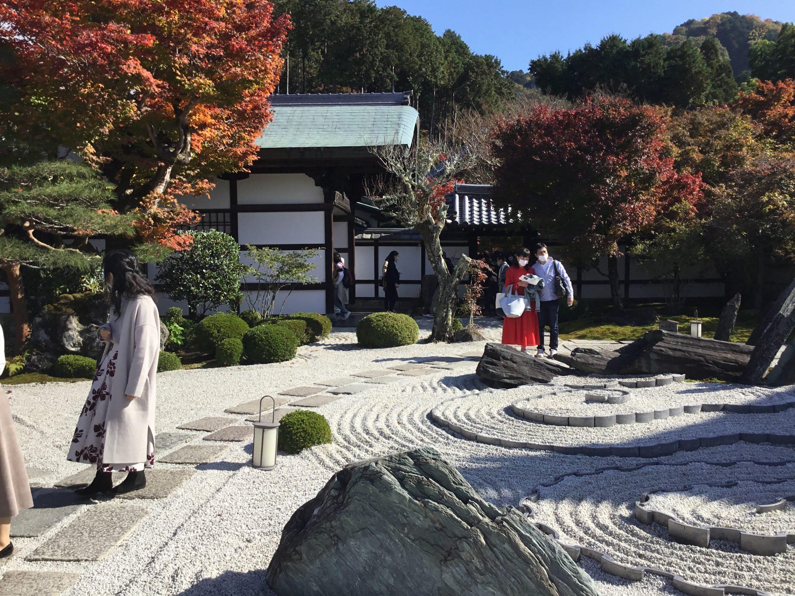 京都紅葉巡り・圓光寺