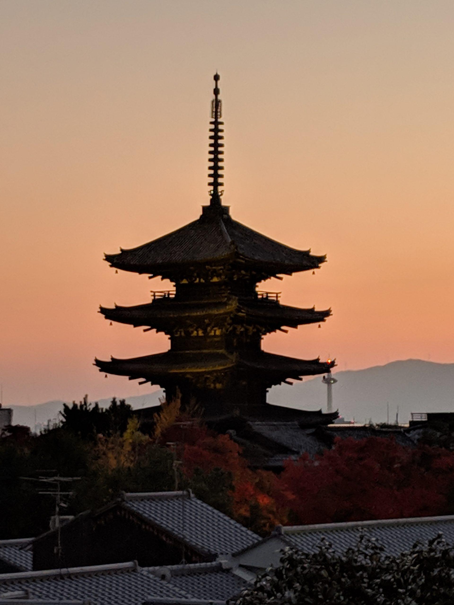 京都紅葉巡り・夜の高台寺